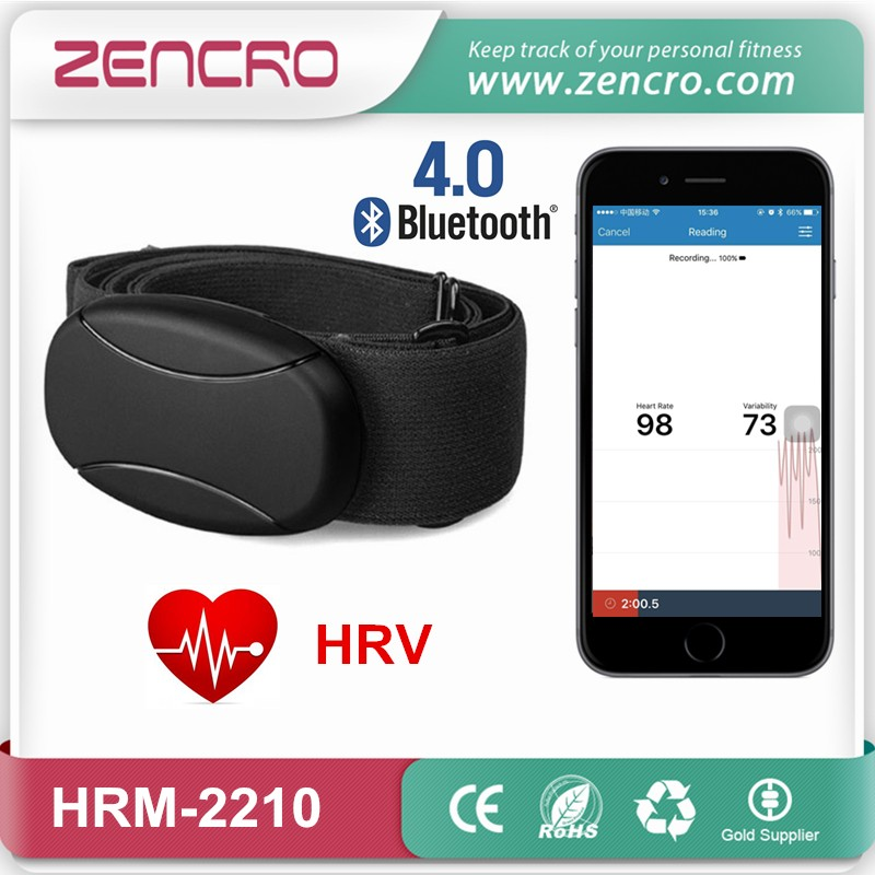Bluetooth heart rate transmitter HRV belt