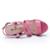 Donna-em 2016 novos estilos de couro rosa sandálias plataforma sandálias de salto alto