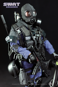 Image 4 - New Free Shipping  NEW Arrival  action figure soldier toys /military toys(SWAT BREACHER)