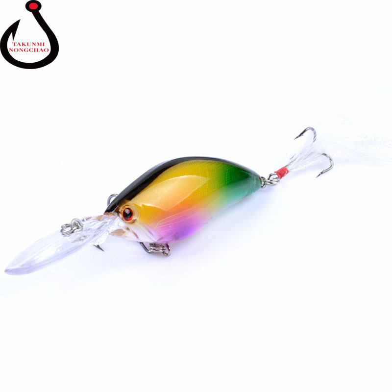 Floating Wobbler Laser Minnow Fish Lure 11CM 18G Artificial Plastic Pesca Hard Bait Carp Crankbait 6Colors 1pcs/lot WS-20