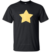 100% Cotton For Shirts Loose Clothes Novelty Men Crew Neck Short-Sleeve Steven Universe Star Tees