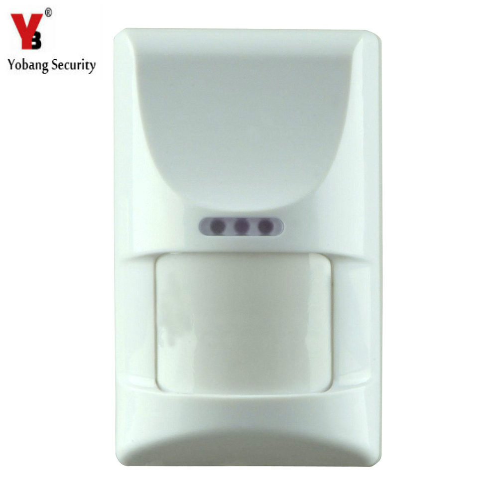 Yobang Security Pet Motion Sensor Pet Immune PIR Sensor Motion Detector Alarm Pet Immunity PIR Motion Detector for alarm hantek 6022bl pc usb oscilloscopes digital portable 2channels 20mhz bandwidth osciloscopio portatil 16channels logic analyzer page 1