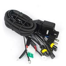 Car Styling 12V 35W 55W HID Bi xenon H4 Wire Harness Controller for Car Headlight Retrofit connect hid bixenon projector lens