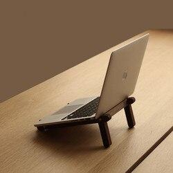 Drewniane wsparcie Notebook biurko kreatywny pulpit biura uchwyt do przechowywania w domu wygodny do przenoszenia miły w podróży