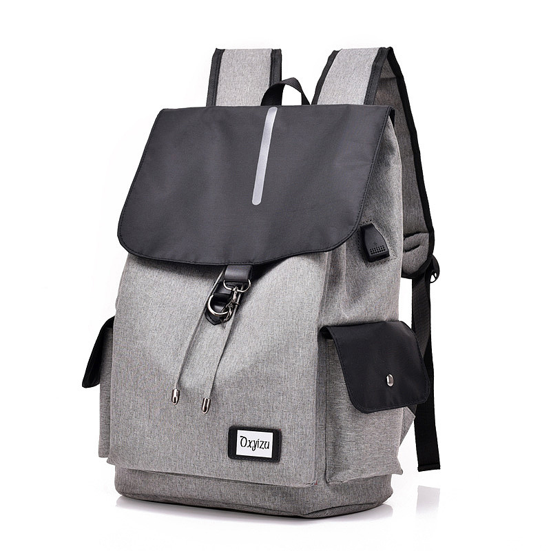 New Smart Usb Backpack Casual Bag For Male Students To Pack A Computer Bag For Travel Across The Border
