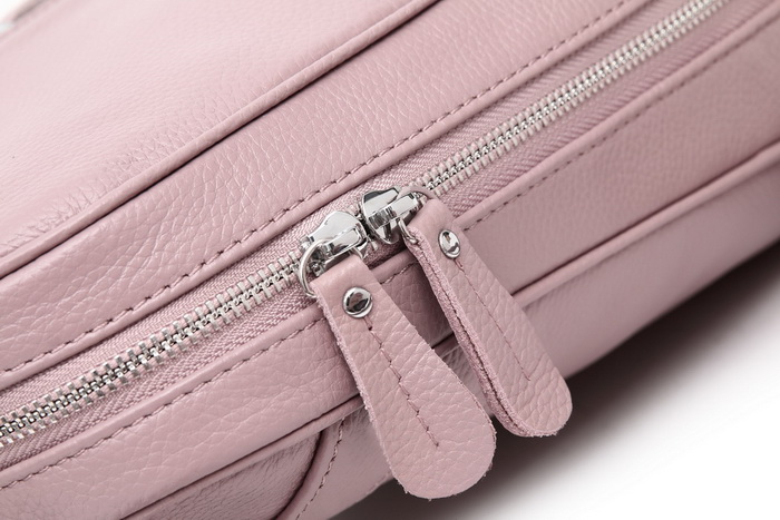 Aodux 100% couro genuíno mochila feminina camada
