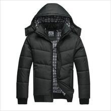 Chaude nouvelle 2020 marque veste hommes hiver veste grande taille M 4XL nouveauté décontracté mince coton avec capuche Parkas Casaco Masculino