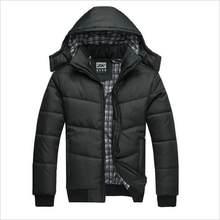 14dc8dfb517 Горячая новинка 2018 брендовая куртка мужская зимняя куртка большой размер  M-4XL Новое поступление повседневные