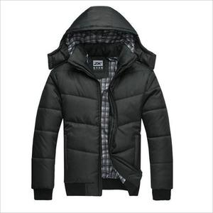 Image 1 - HOT New 2020 Brand Jacket Men Winter Jacket Big Size M 4XL New Arrival Casual Slim Cotton With Hooded Parkas Casaco Masculino