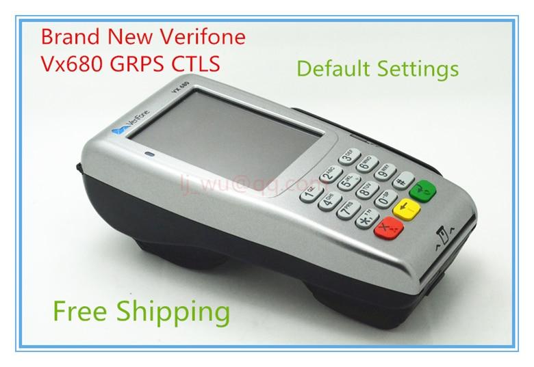 Verifone марка нови Vx680 GPRS CTLS POS терминали