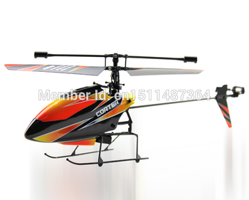 2.4G 4CH Single Blade Gyro RC MINI Helicopter with original box +V911 helicopter parts
