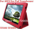 "For ASUS Eee Pad Transformer TF300 TF300T 10.1"" New Arrival Folio luxury leather case Cover"