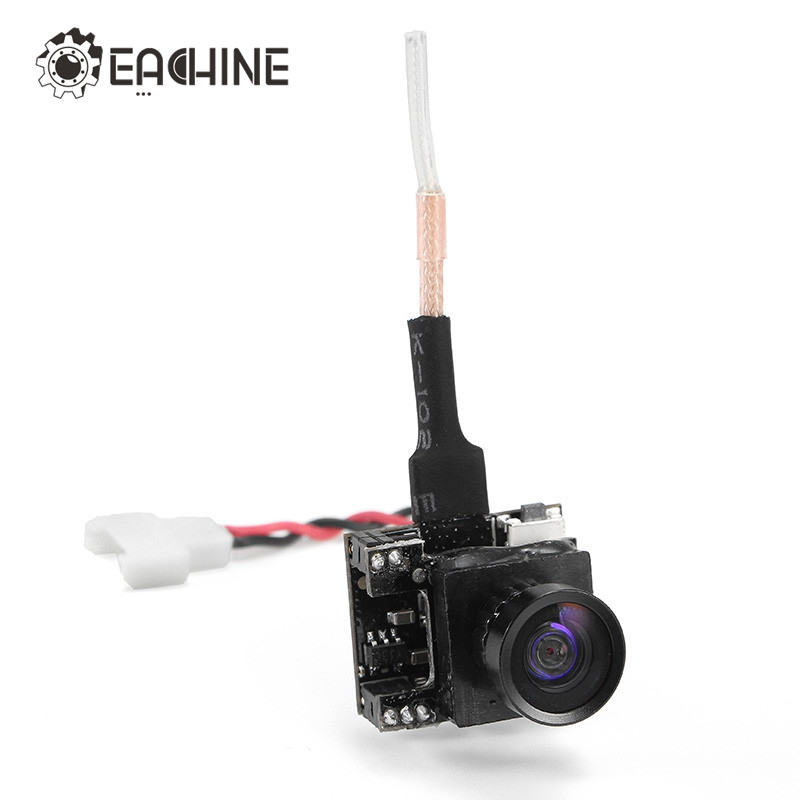 Hot Sale Original Eachine TX04 PAL Super Mini Light AIO 5.8G 40CH 25MW VTX 700TVL 120 degree Wide Angle Mini FPV Camera hot sale antenna guard protection cover for eachine qx90 qx95 fpv camera