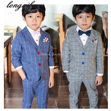 Free shipping boy's brand suit Set New style suits boy wedding Dress Suit sets, jacket + pants+Vests free shipping bosi brand new 50pc mechanics tool set china top ten brand