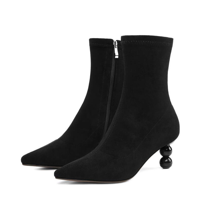 Venta Del Botines Otoño Tacones Llegada Finos Black Pie Memunia Ocio Moda Caliente De Mujeres Invierno Las Botas Señoras Puntiagudo Dedo Nueva Zapatos Sxaqv7