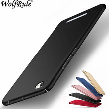 hot deal buy wolfrule phone case xiaomi redmi 4a cover ultra-thin back protection plastic case for xiaomi redmi 4a case redmi 4a fudnas 5.0