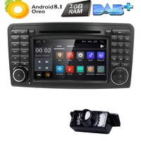 Два Din 7 дюймовый dvd плеер автомобиля для Mercedes Benz/класс GL ml W164 X164 ML350 ML450 ML500 GL320 GL450 стереоплеер gps FM iPod карта