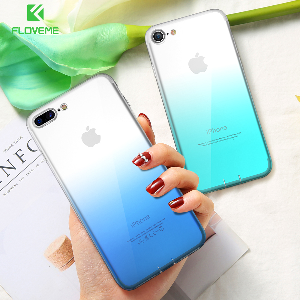 best service e839e 03832 US $1.69 30% OFF|FLOVEME Phone Case For iPhone 6 7 8 Plus Cases Changing  Colors Ultra Slim Soft Silicon Case For iPhone X XS Max XR 5s SE Cover -in  ...