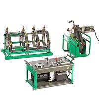 Équipement de soudure thermoplastique d'appareil hydraulique de SWT-V250/90 H pour souder des tuyaux en plastique