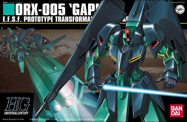 1PCS Bandai HGUC HGUC 042 ORX-005 Gaplant Gundam Mobile Suit Assembly Model Kits lbx toys Anime action figure TOYS Gunpla ohs bandai mg 179 1 100 sengoku astray gundam mobile suit assembly model kits