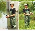 Открытый Легкий удобный Носить грудь рыбалка куликов загрузки водонепроницаемый Камуфляж дышащий летать болотных резиновые штаны куликов сапоги