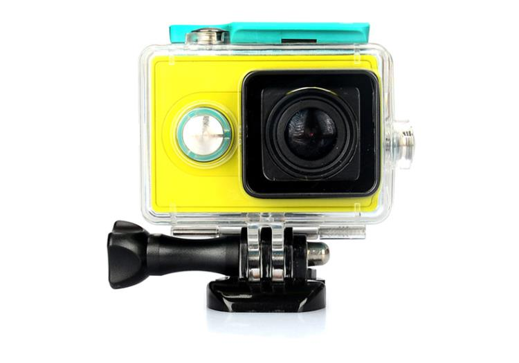 2016 NEW waterproof case for Xiaomi Xiaoyi Yi Action Camera 40M Diving Sports Box yi camera Sport Box Accessories