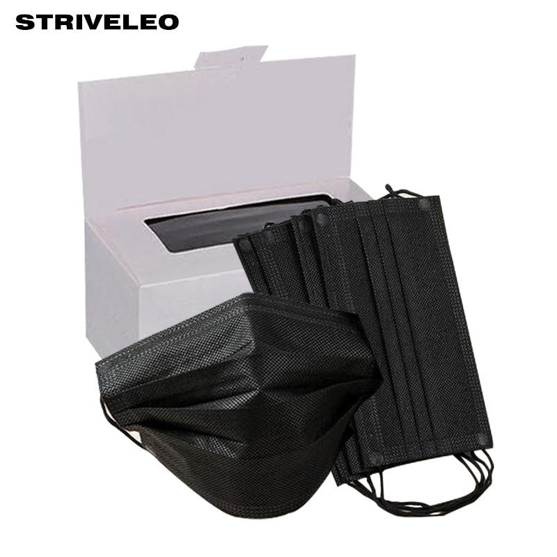black mask disposable