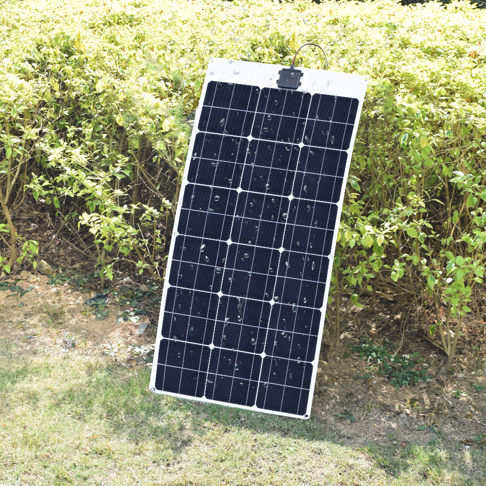 80W 18V Flexible solar panel 11