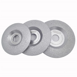DT-DIATOOL 1pc Dia 100/115/125mm Vacuum Brazed Diamond Grinding Disc Dry or Wet Shaping Grinding Wheel for Granite Marble