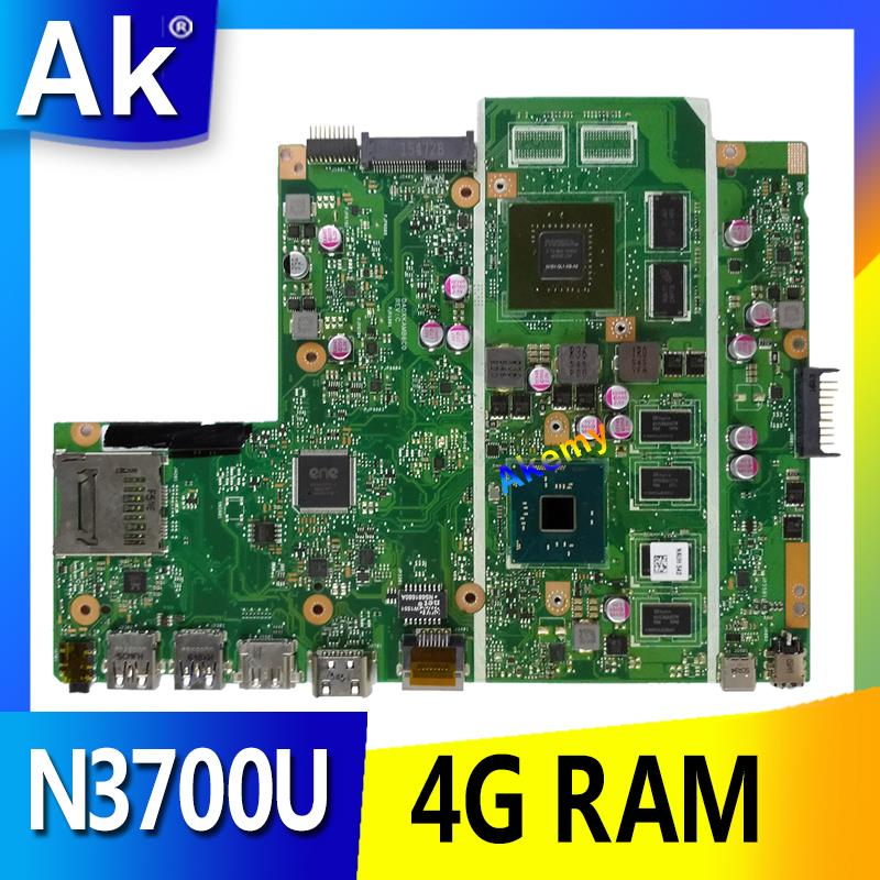 AK X540SC Laptop motherboard para ASUS X540SC X540S X540 Teste mainboard original N3700 CPU 4g RAMAK X540SC Laptop motherboard para ASUS X540SC X540S X540 Teste mainboard original N3700 CPU 4g RAM