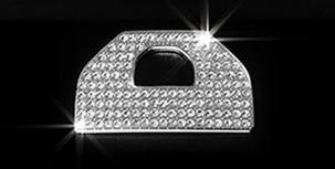 Chrome Car Electronic Hand Brake Cover Trim Car Brake Decorative Sticker For Range Rover Evoque 2011-2016 Accessory Car Styling silver black side fender sticker for land rover range rover evoque 2011 2016 abs chrome car accessories