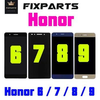 Oryginalny wyświetlacz dla Huawei Honor 6 LCD Honor 8 wyświetlacz ekran dotykowy 6 PLUS zamiennik dla Huawei Honor 7 LCD Honor 9