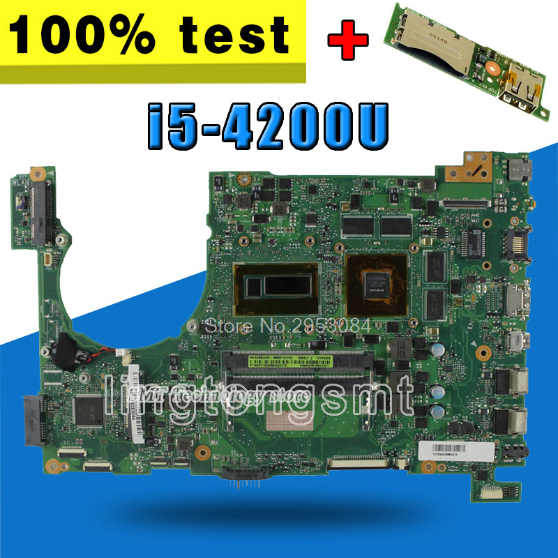 send board+N550LF Motherboard i5-4200U For ASUS N550LF N550L Laptop motherboard N550LF Mainboard Q550LF Motherboard test 100% OK send i5 cpu n73sv laptop motherboard 8 memory gt 425m 1gb 3 ram slot for asus n73sv n73s n73sm motherboard mainboard test ok