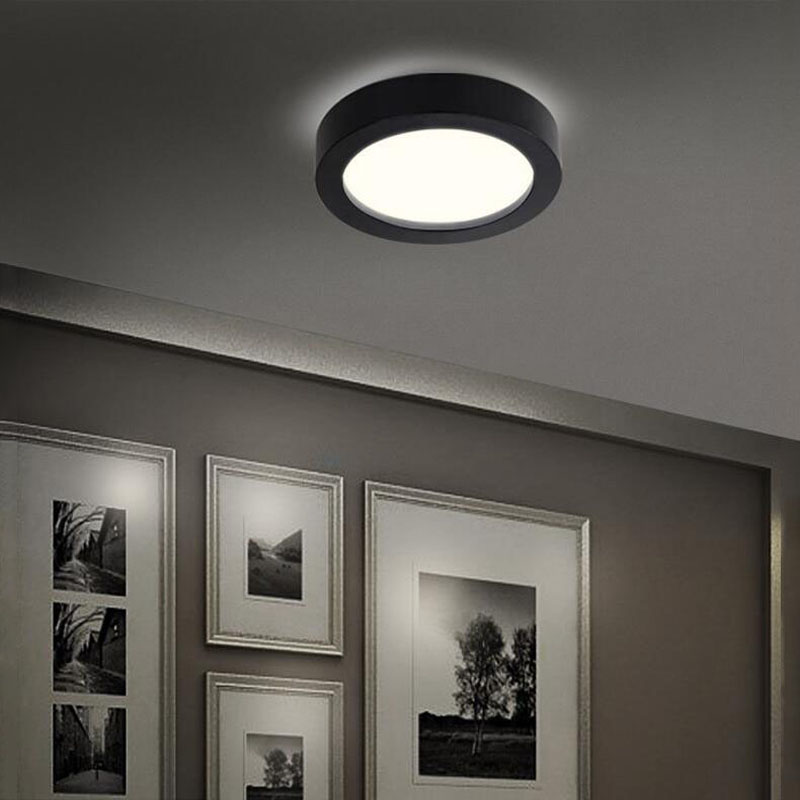 Round ceiling lighting minimalist modern corridor rooms bedroom lamps,D35CM fumat modern minimalist bedroom ceiling light corridor balcony glass lampshade light kitchen round metal ceiling lamps