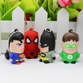 USB 2.0 Cute Mini Pendrive 512GB Flash Drive 64GB 8GB 16GB 32GB Superhero Usb Stick Key Cartoon Pen Drive Batman Superman Gift