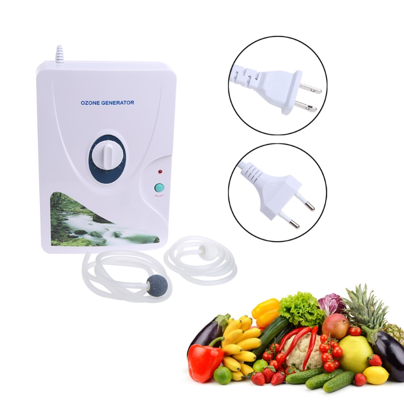 Air Purifier Ozone Generator Ozonator Sterilizer For Vegetable Fruit 220V 110V ozone generator 110v 10g double ceramic plate integrated ozone generator sterilizer air purifier ozonizer for home tools