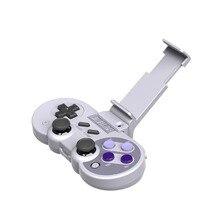 Para 8 Suporte Alça Ajustável Bracket Suporte Suporte Do Telefone Móvel Braçadeira 8bitdo Wireless Controller Para Nintendo NES30PRO FC30PR Controlador Do Bluetooth