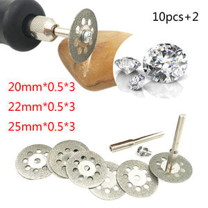 Tool Set 10pcs5pcs Dremel Diamond Grinding Wheel Saw Cutting Abrasive Disc For Dremel Rotary Tools Accessories With Mandrel