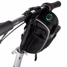 Cycling Bike Bicycle Front Frame Tube Handlebar Holder Pannier Pouch Bag Waterproof +Mountain Bike Accessories In Stock