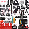 Gopro acessórios set para gopro hero 5 byncg 4 3 kit de montagem para go pro tripé de câmera sjcam sj4000 para xiaomi yi eken h9 12I