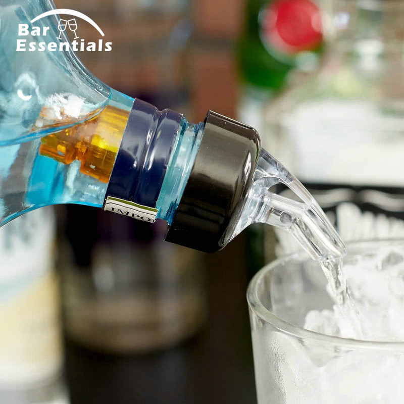 Details about  /12 Pcs Plastic Liquor Spirit Pourer Free Flow Wine Bottle Pour Spout Stopper Hot