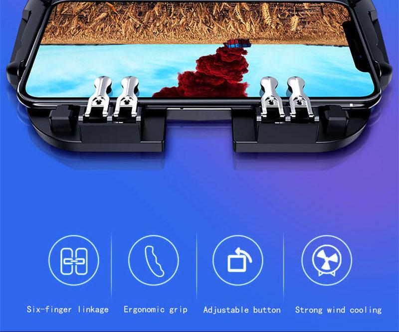 Controlador PUBG gatillo de juego móvil 1