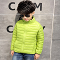 High quality children Down jacket Kids Outerwear 8-12 years old high Turtleneck long sleeve boys girl Clothes 2017 Autumn Winter