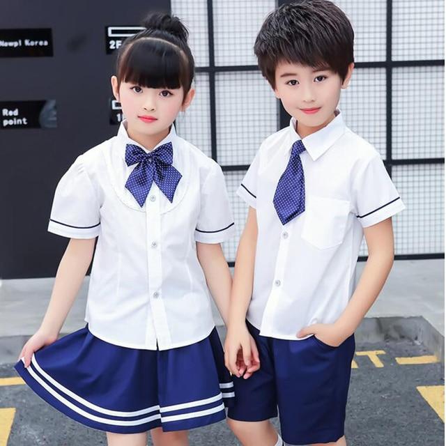 Children Japanese Korean School Uniforms For Girls Boys -2242