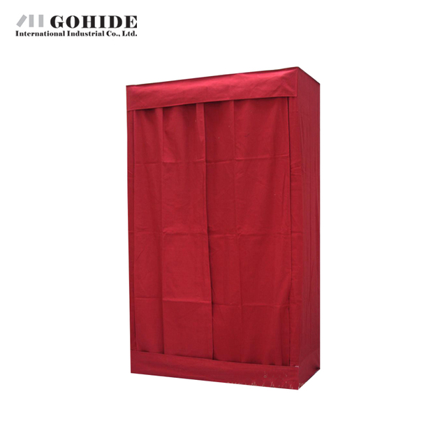 Gohide Savoring 154cm Pine Home Storage Wardrobe Solid Wood Clothes Cabinet Home Furnishing Decoration