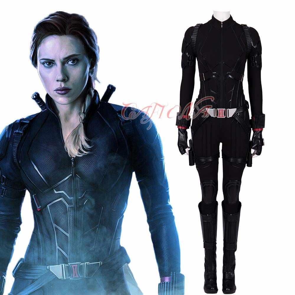 Newest Avengers Endgame Black Widow Natasha Romanof Cosplay
