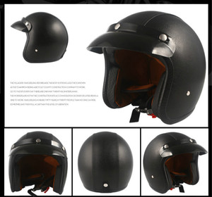 Image 3 - Helmets for Cross country Motorcycles Sunscreen Locomotives Half helmets Four season Electric Vehicle Safety Helmet