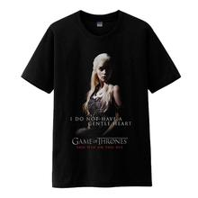 High-Q Game of Thrones Daenerys Targaryen tees shirt t-shirt cotton T-Shirts A Song of Ice and Fire Khalees t-shirt tshirt tees