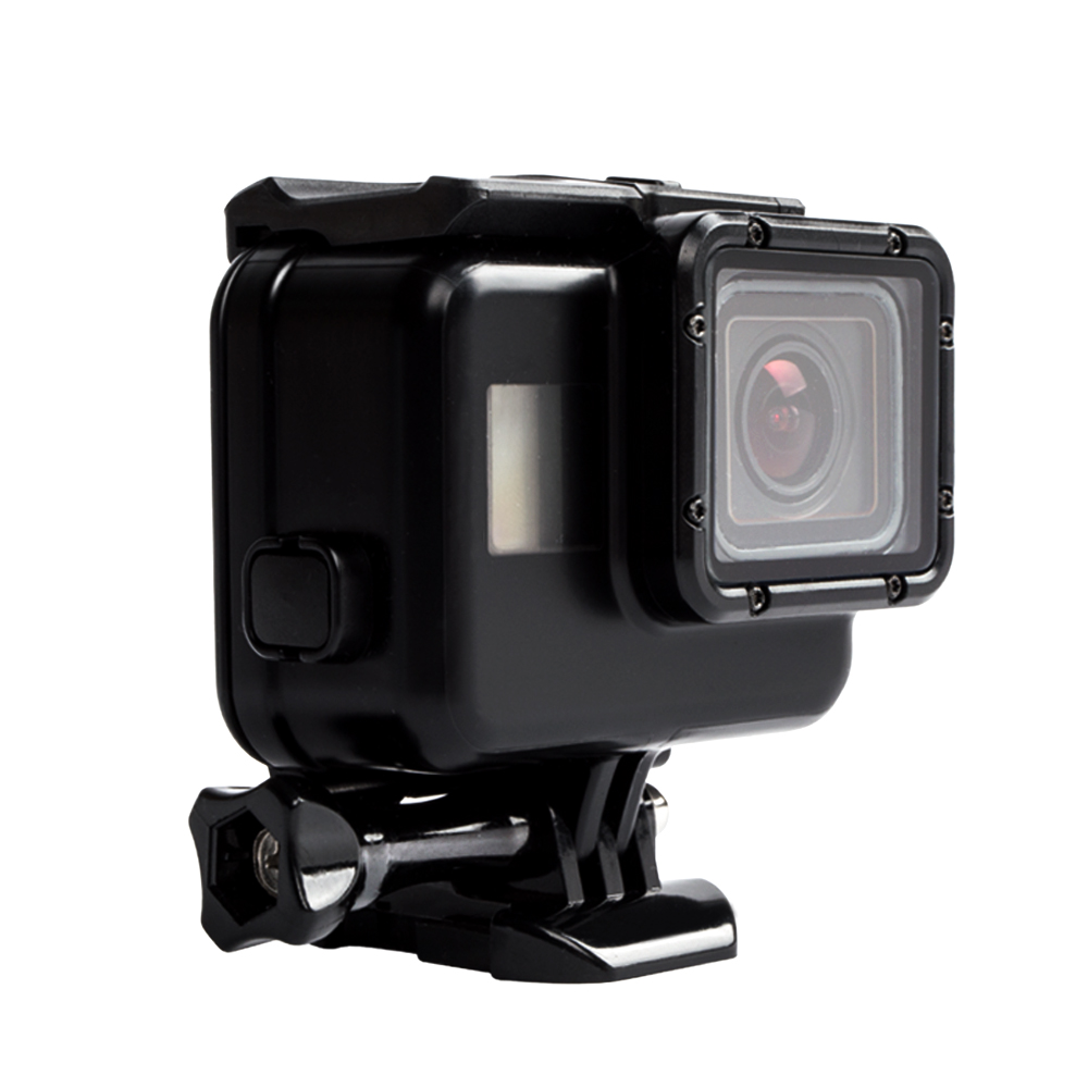 Galleria fotografica CAMKONG 60M Waterproof Case For GoPro Hero 5/Hero 6 Touchable Diving Cover Sports Action Camera Housing Shell Accessories Kits