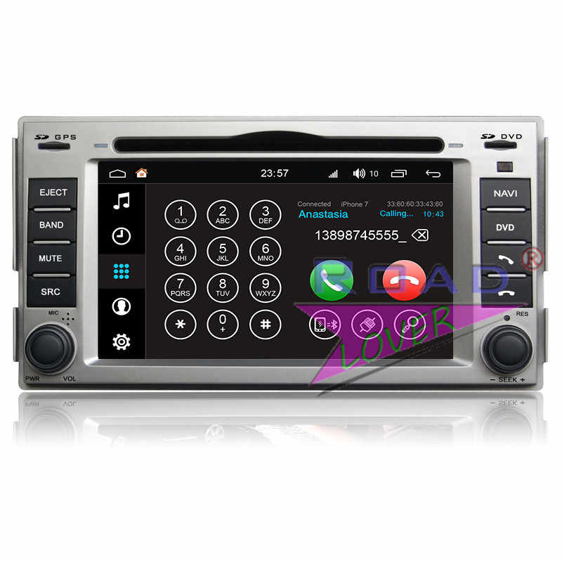 Winca S200 Android 8.0 Araba DVD OYNATICI Hyundai Santa Fe 2006 Için 2007 2008 2009 2010 2011 2012 Stereo GPS Navigasyon magnitol MP3